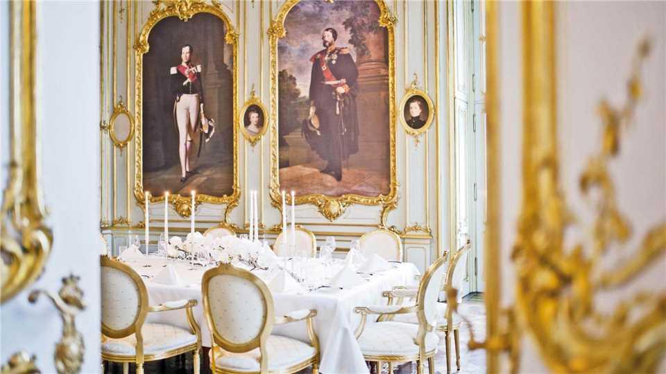 Palais Coburg Wien Grüner Salon