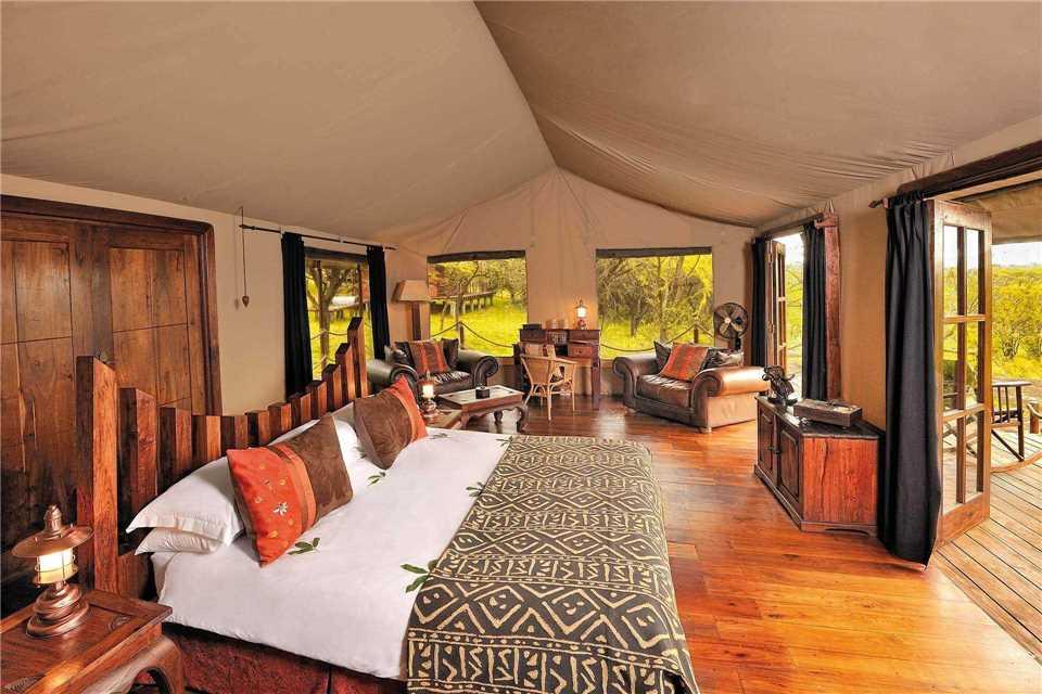 Serengeti Migration Camp Zimmerblick