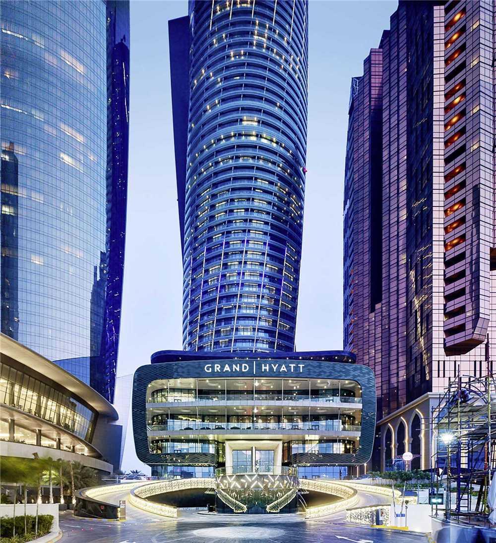 Grand Hyatt Abu Dhabi Hotel & Residences Emirates Pearl Außenansicht