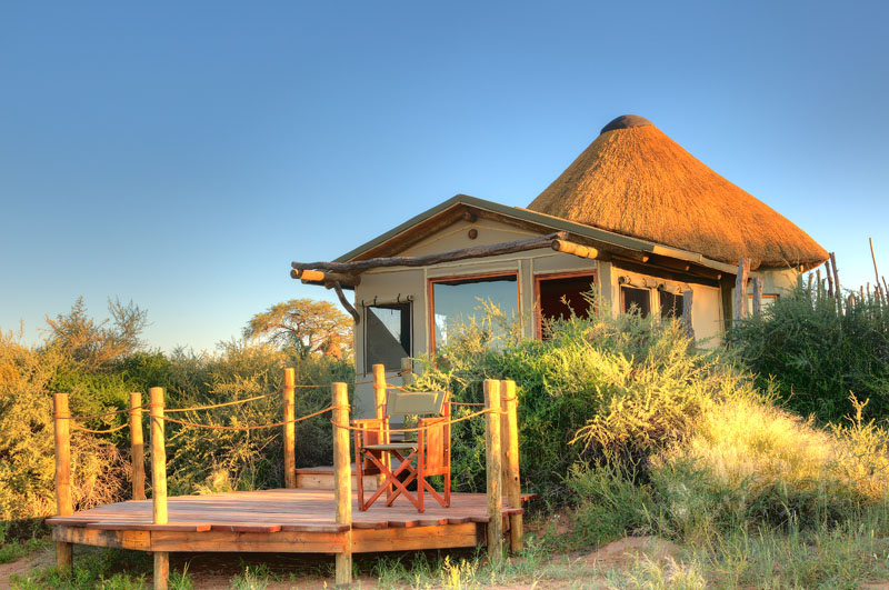 Kalahari Red Dunes Lodge Außenansicht