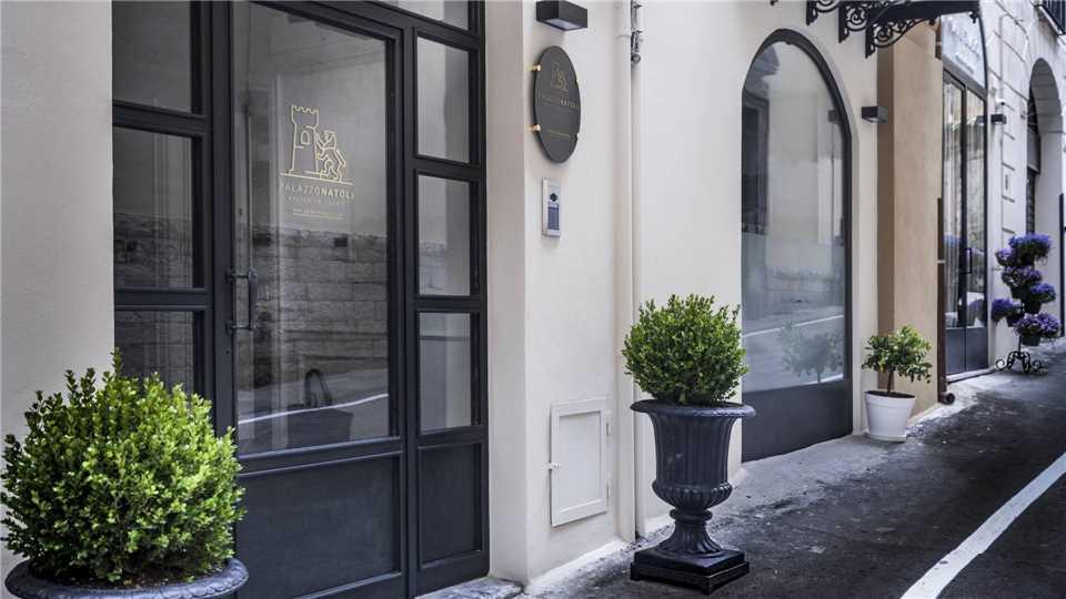 Palazzo Natoli Boutique Hotel Eingang