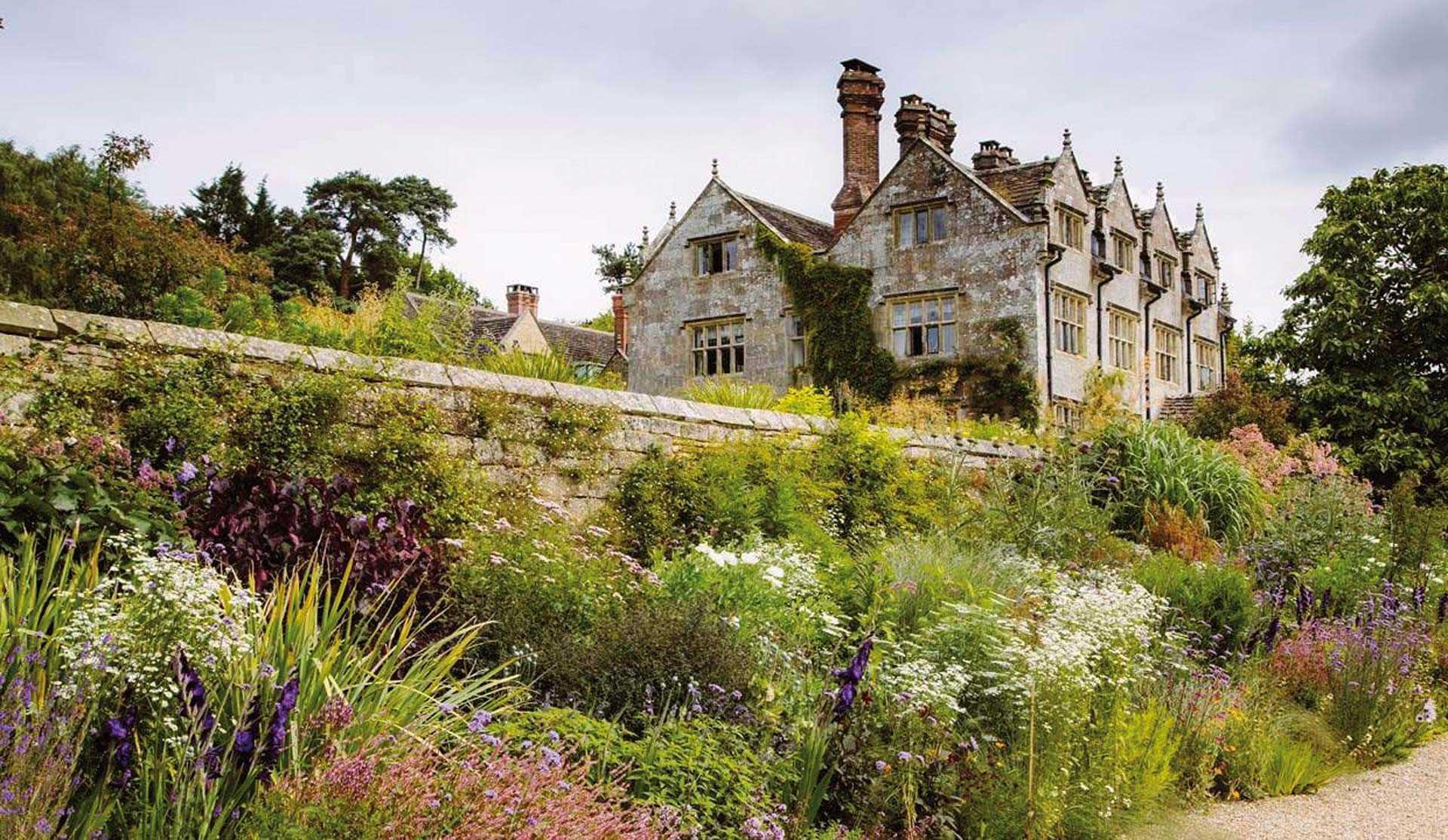 Gravetye Manor Garten an der Long Border