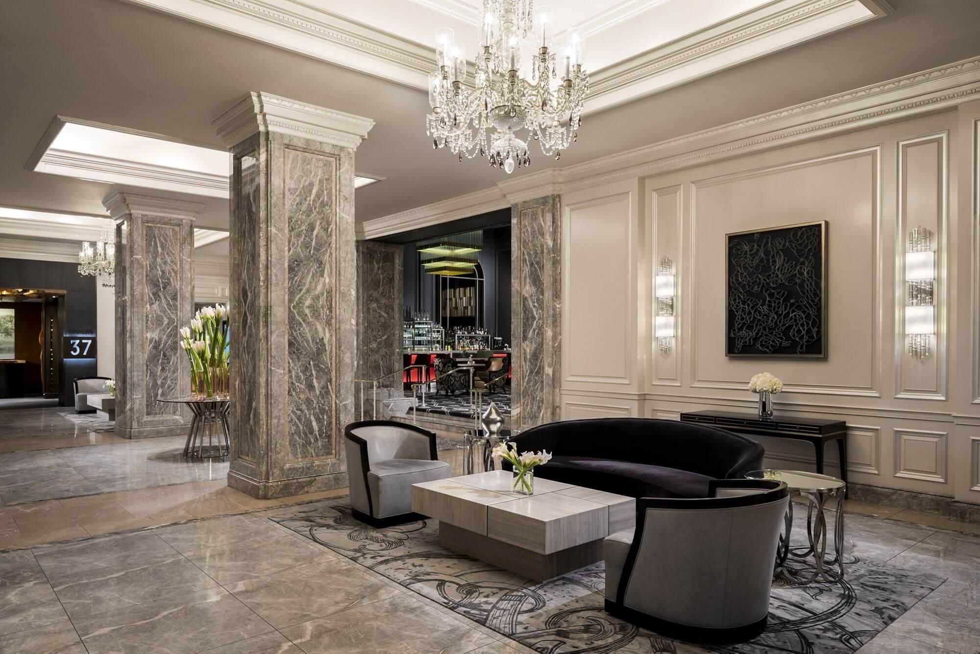 The Ritz Carlton San Francisco Lobby