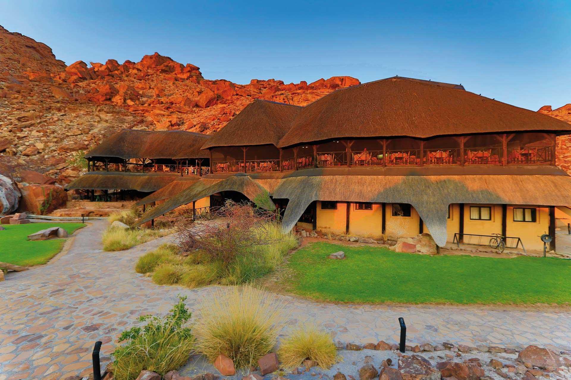 Twyfelfontein Country Lodge Lodgeansicht
