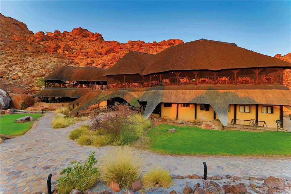 Twyfelfontein Country Lodge Lodgeansicht