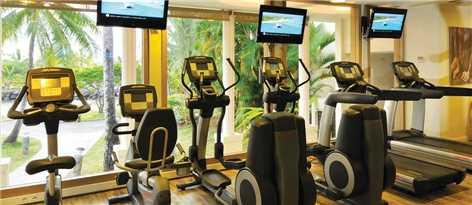 InterContinental Tahiti Resort & Spa Fitnessbereich