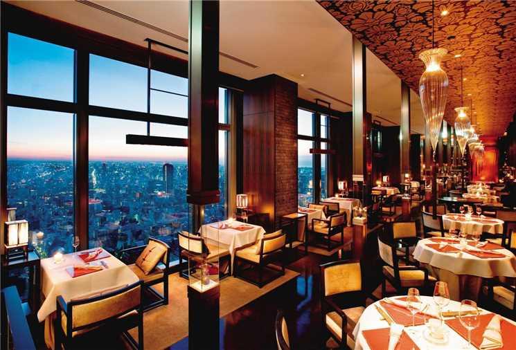 Mandarin Oriental Tokyo restaurant
