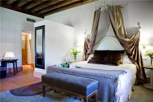 Segovia, Spanien - Doppelzimmer im Hotel San Antonia el Real