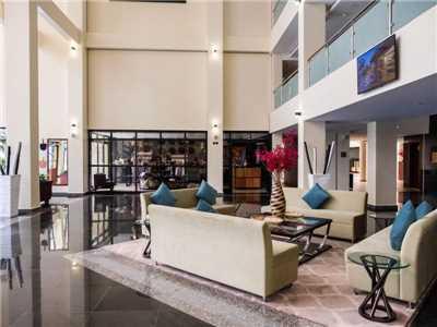 Mantis Kivu Marina Bay Hotel Lobby