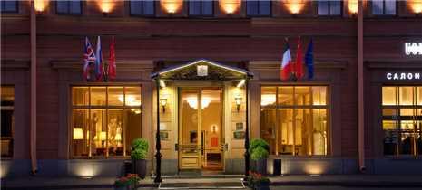 Hotel Angleterre Eingang