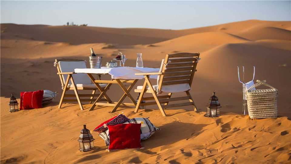 Merzouga Luxury Desert Camp Dinner