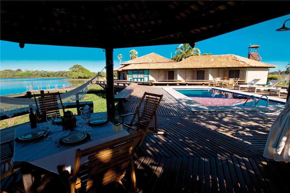 Caiman Lodge Terrasse