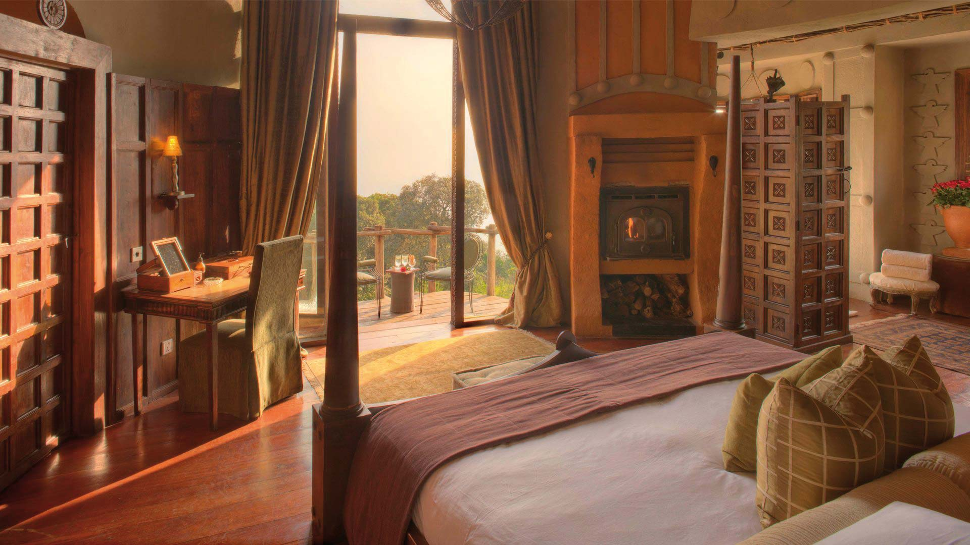 &Beyond Ngorongoro Crater Lodge Zimmerblick