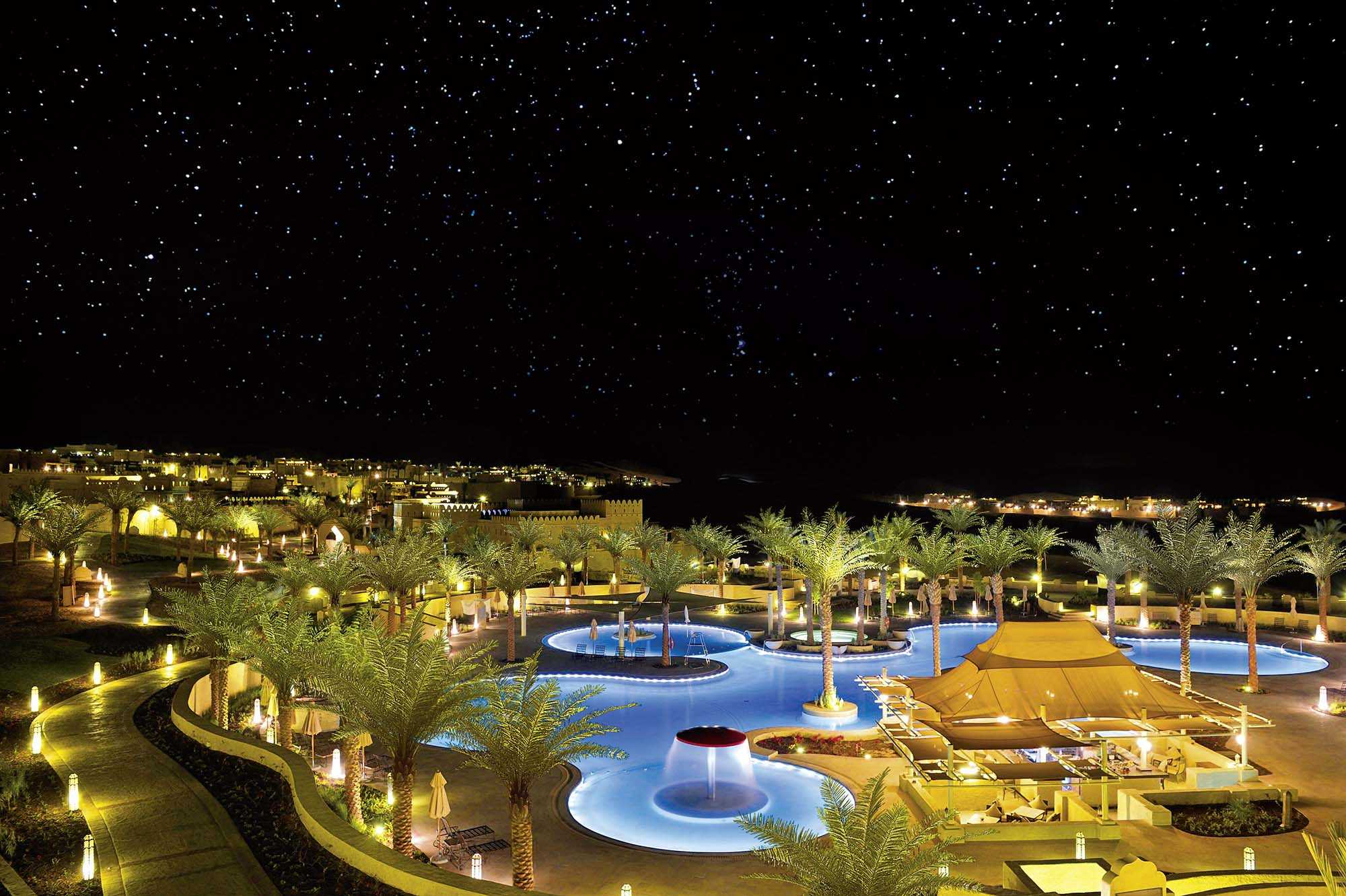 Qasr al Sarab Desert Resort by Anantara Luftaufnahme
