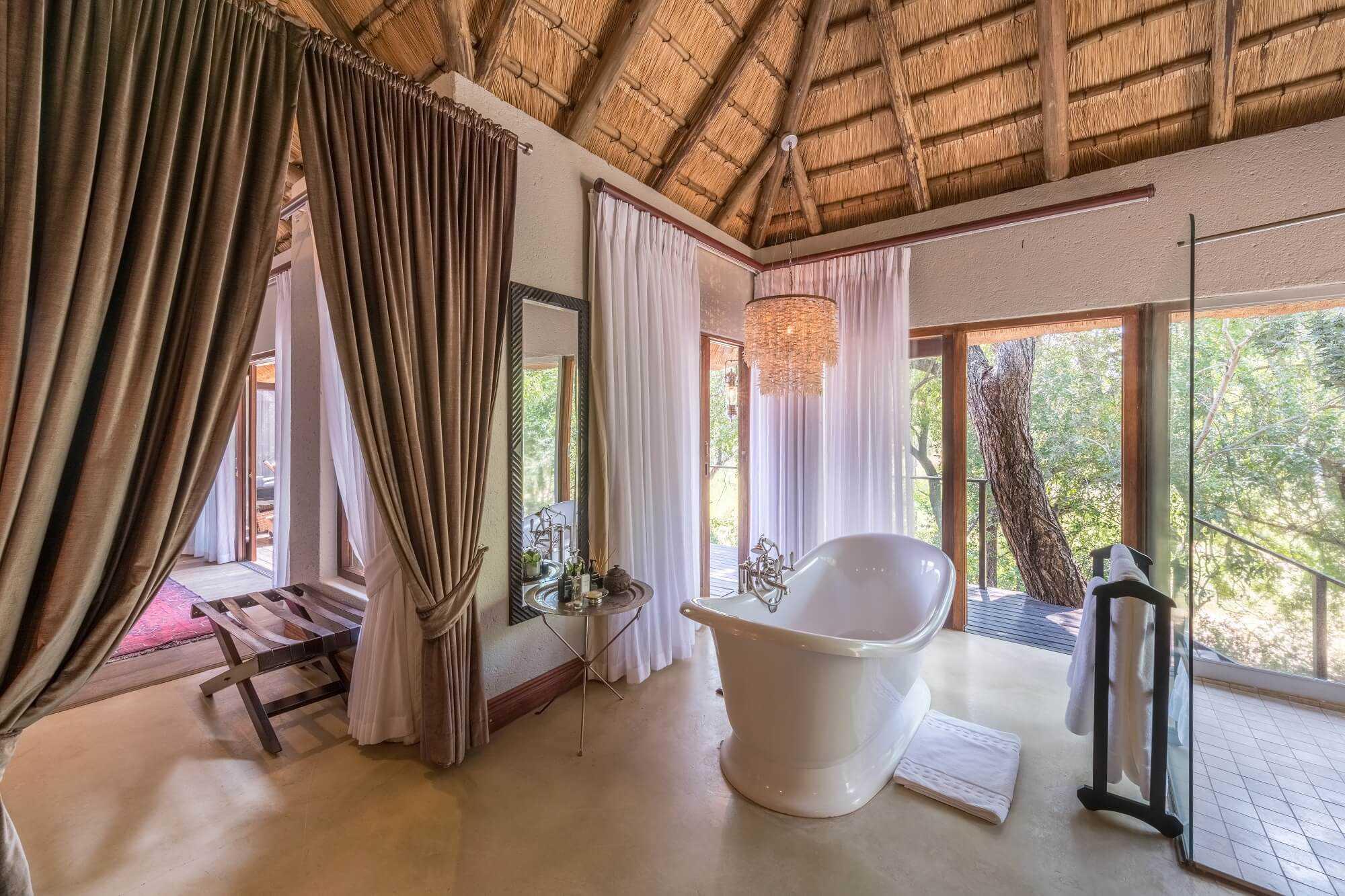 Dulini River Lodge Badezimmer
