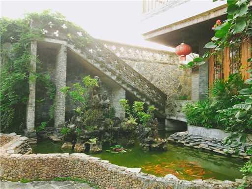 Yangshuo River Lodge Hotel Hinterhof