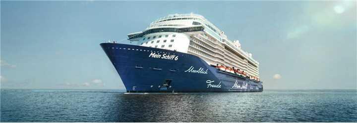 Tuicruises Mein Schiff 6 Schiffansicht
