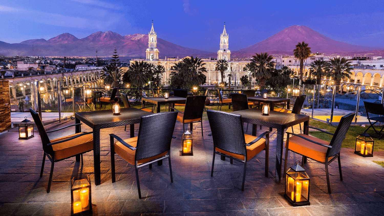 Katari at Plaza de Armas Skybar