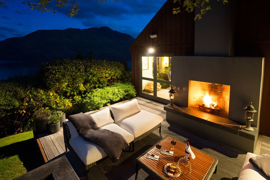 Azur Lodge Kamin