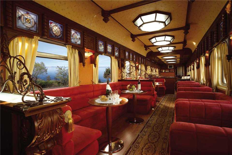 Golden Eagle Trans-Siberian Express Bar Wagen