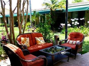 Pacific Gardens Hotel Terrasse