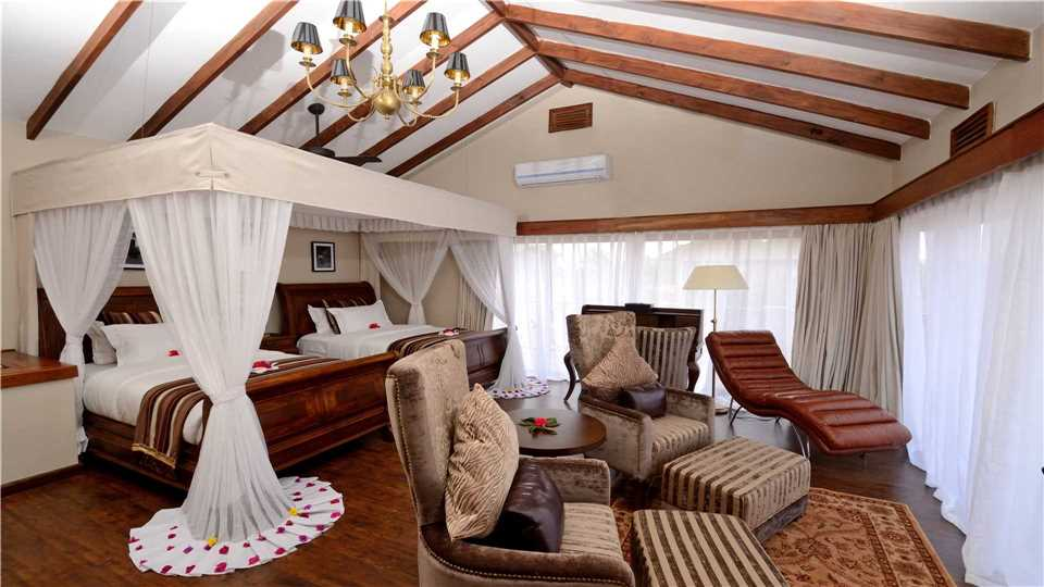 Ngorongoro Oldeani Mountain Lodge Twin Zimmer
