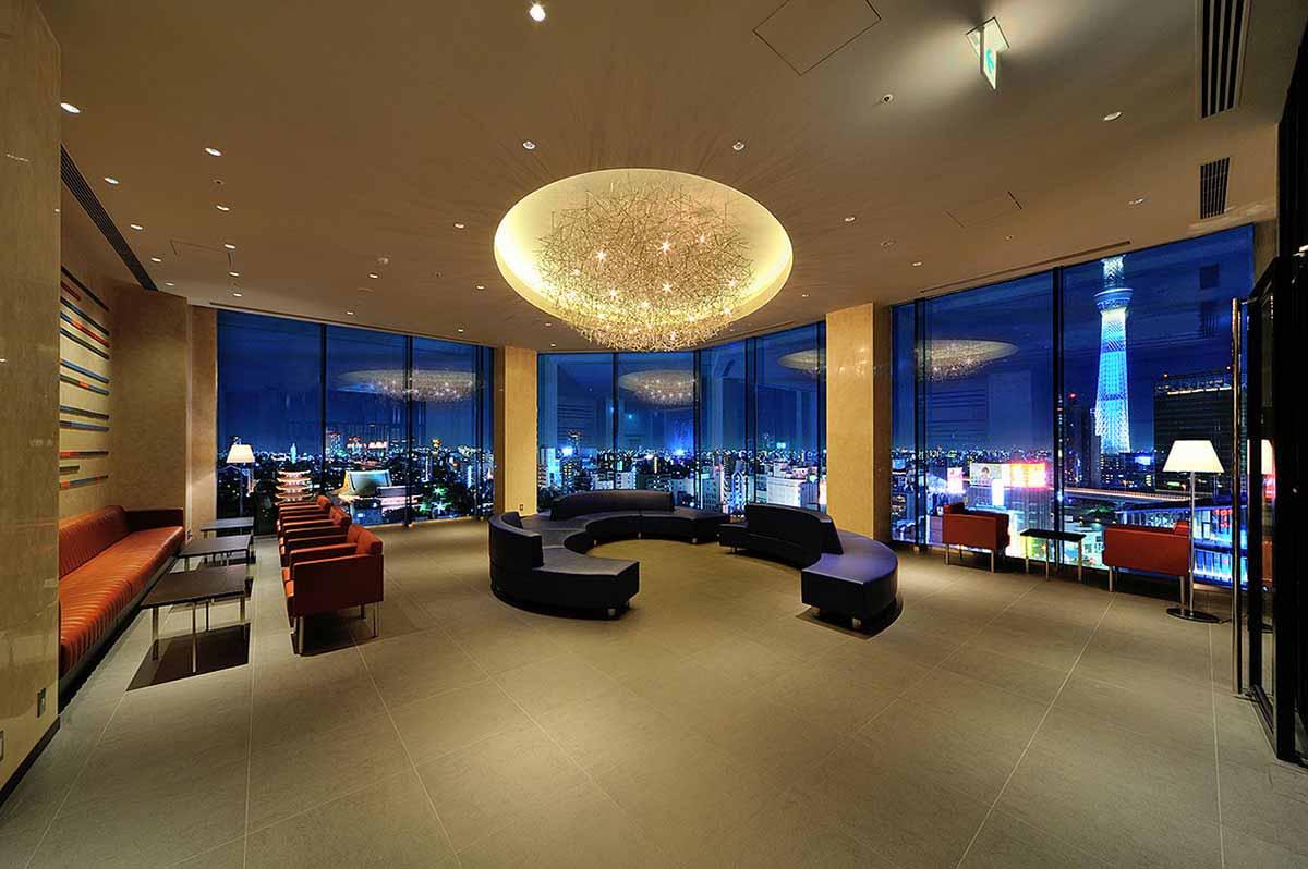 The Gate Hotel Asakusa Kaminarimon by Hulic Lounge