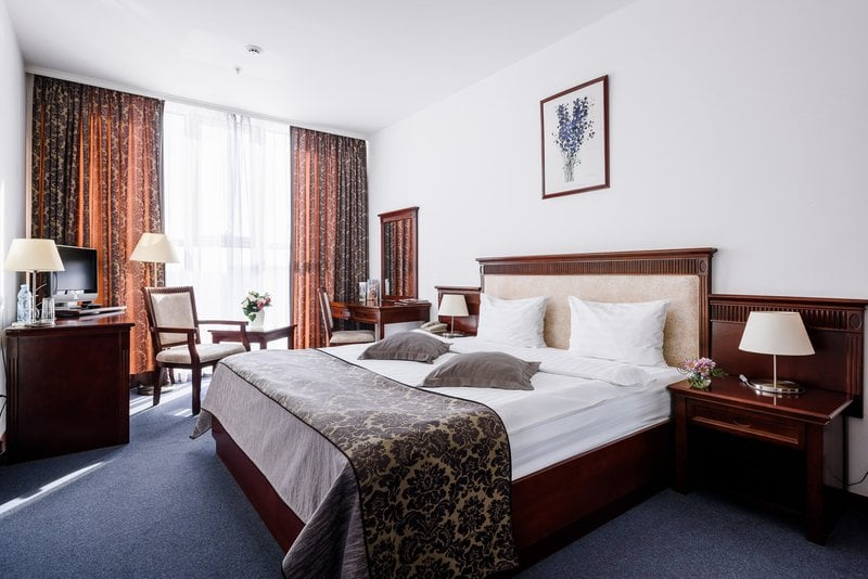 Grand Hotel Astrakhan Zimmer mit Stadtblick