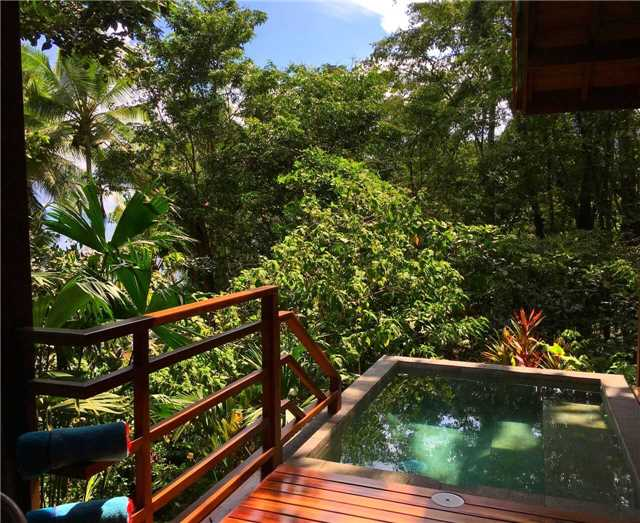 Playa Cativo Lodge Pool Doppelzimmer