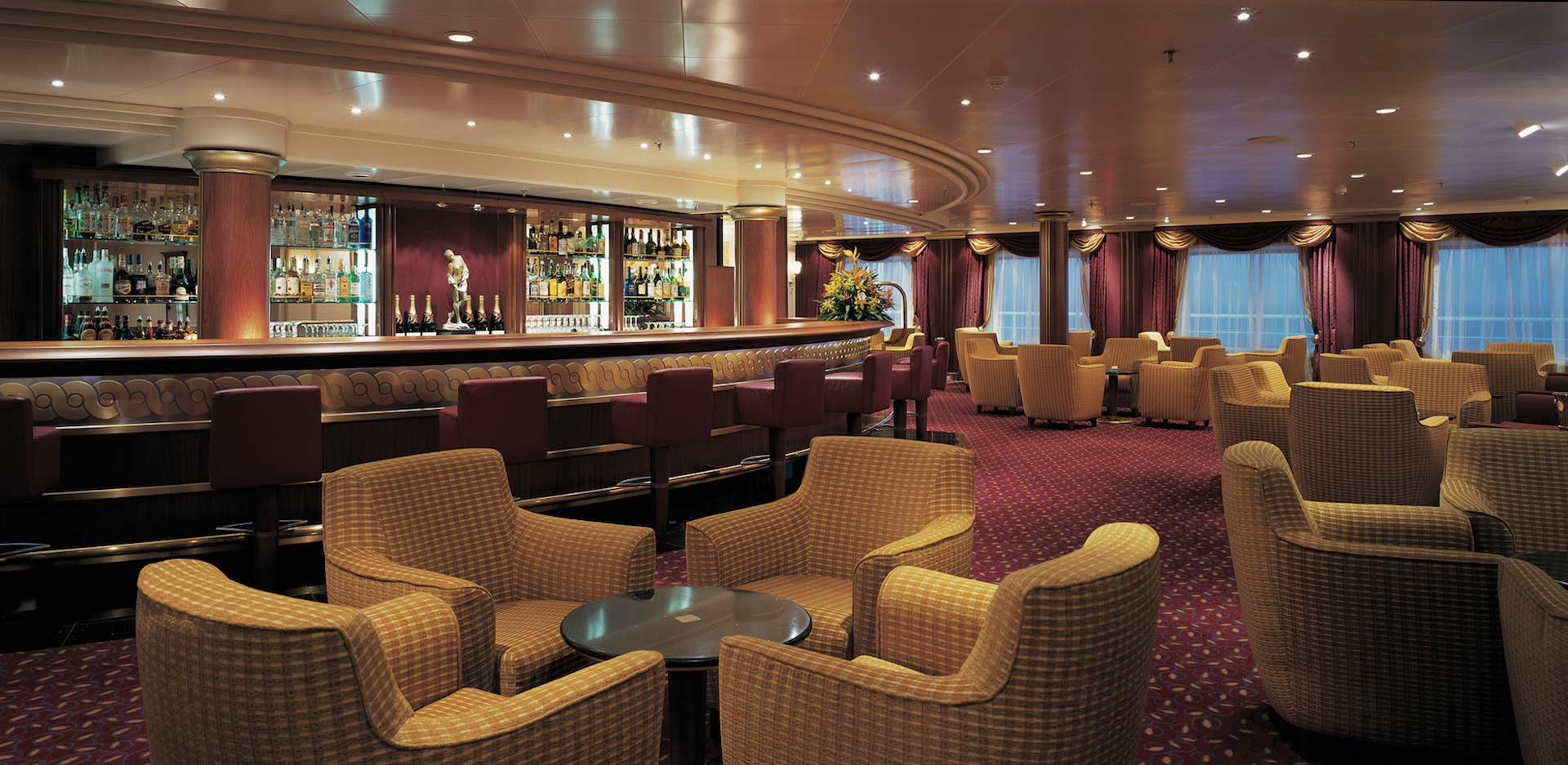 Silversea Cruises Silver Shadow Bar
