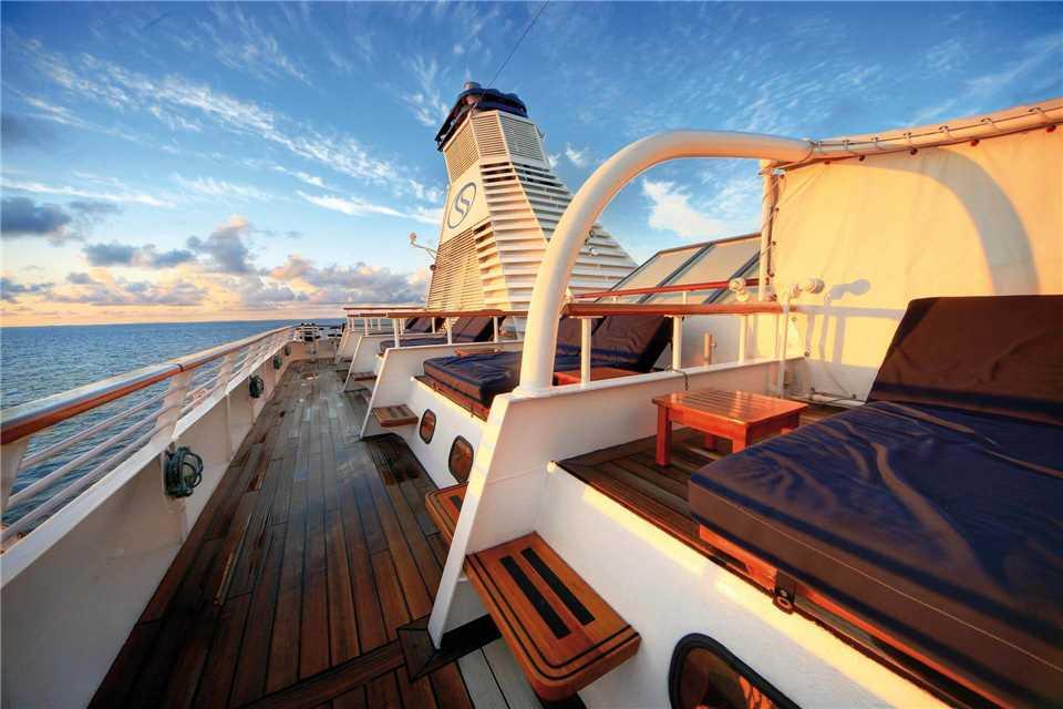 SeaDream I SeaDream Yacht Club Terrasse