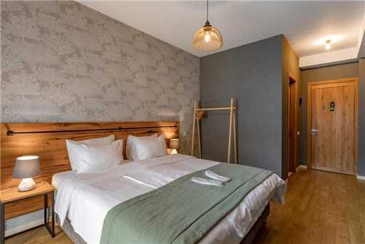 Hotel Stancia Kazbegi Doppelzimmer