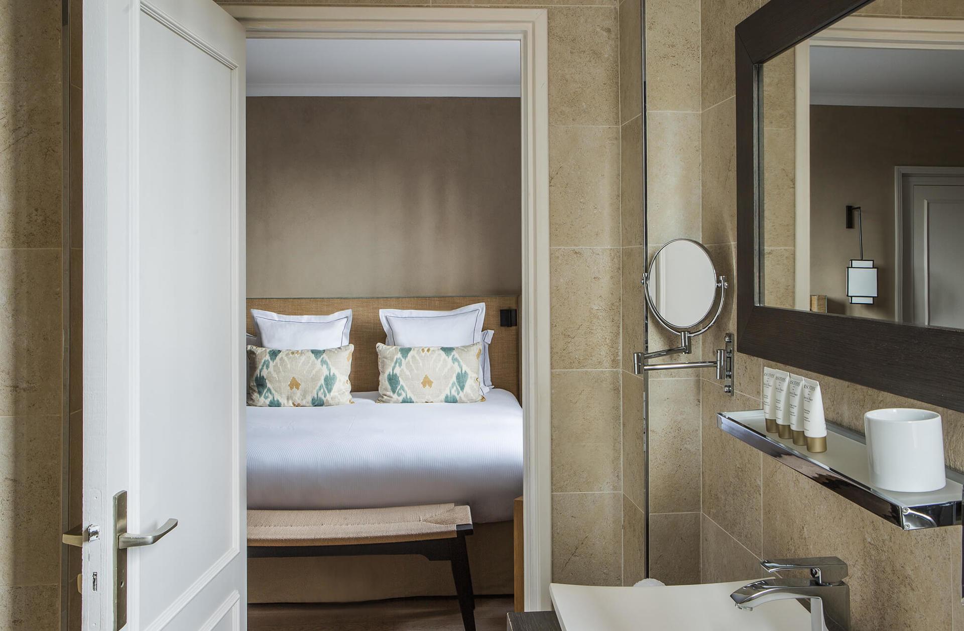 Hôtel du Pigonnet Badezimmer
