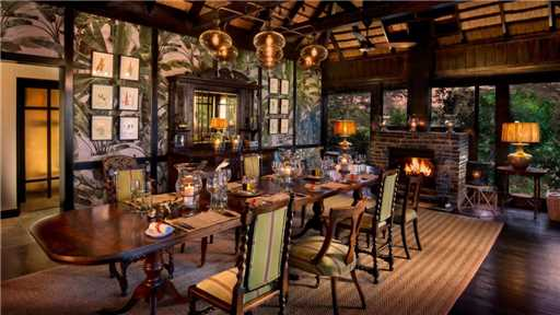 &Beyond Phinda Vlei Lodge Restaurant