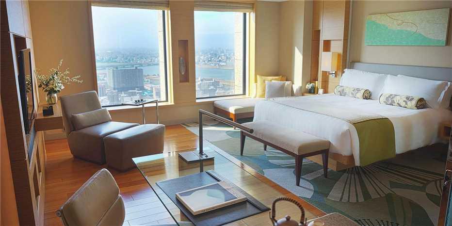 InterContinental Osaka Doppelzimmer