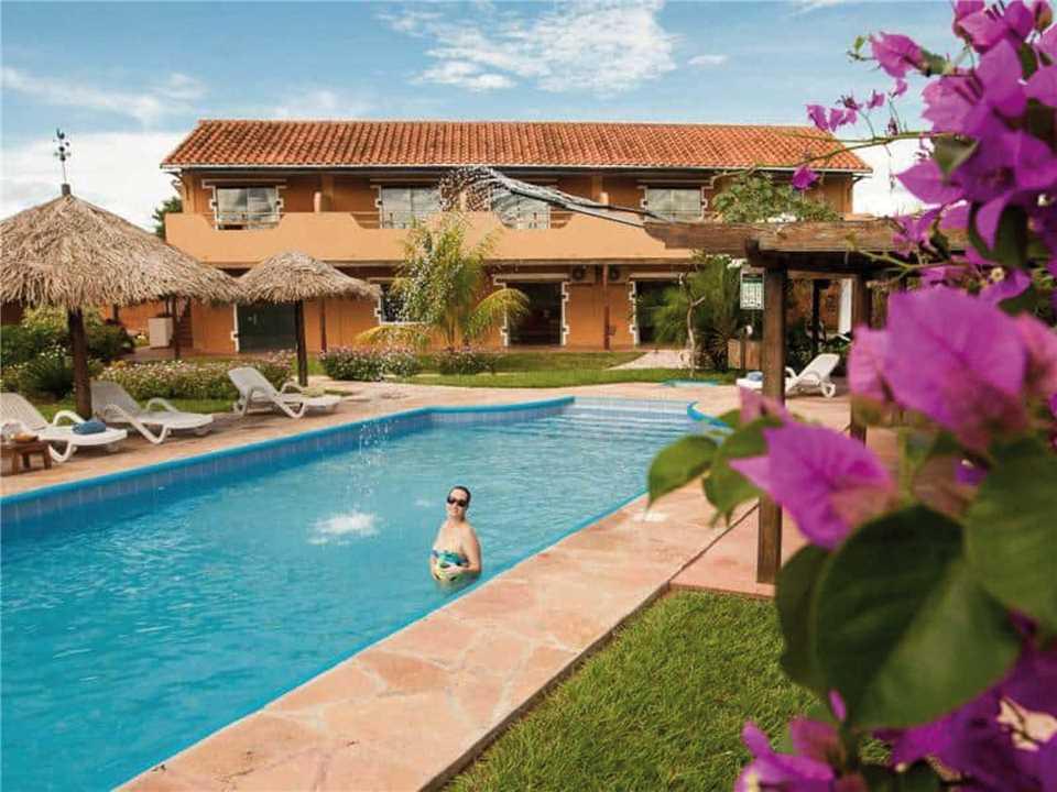 Hotel Villa Chiquitana Außenansicht