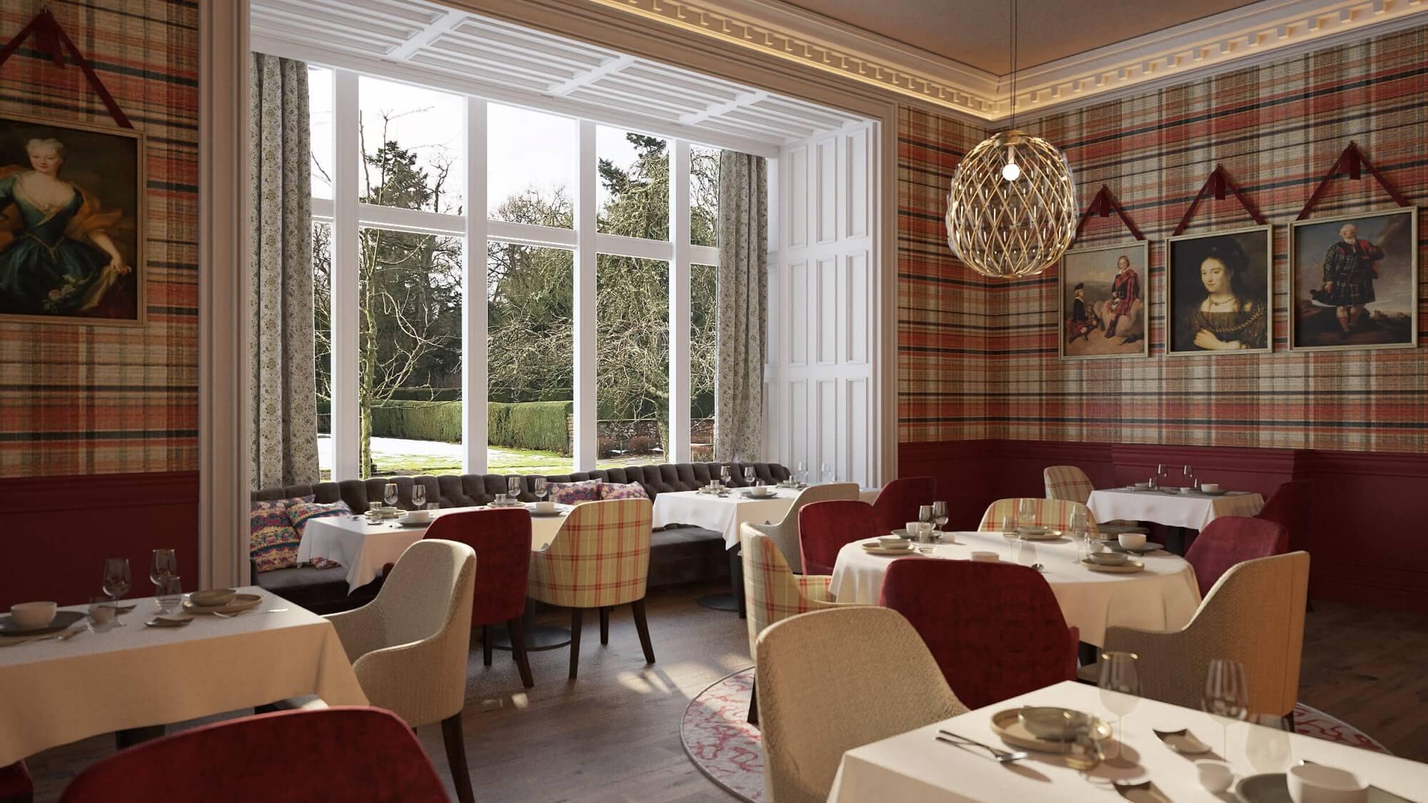 The Roxburghe Hotel & Golf Course Restaurant