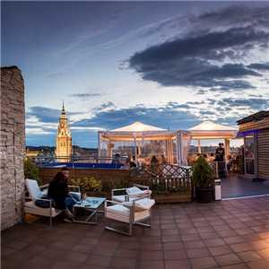 Spanien, Toledo - Dachteresse Hotel Carlos V Toledo