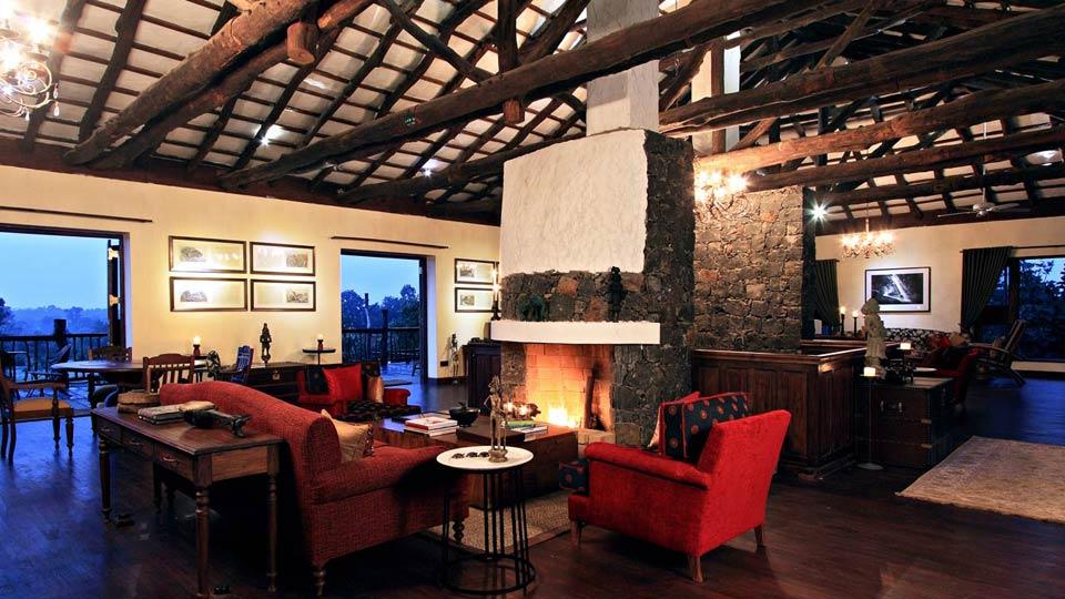 Samode Safari Lodge Lobby