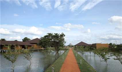 Water Garden Sigiriya Außenansicht