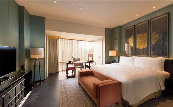 Waldorf Astoria Beijing Doppelzimmer