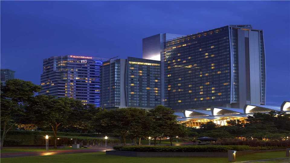 Traders Hotel Kuala Lumpur Außenansicht