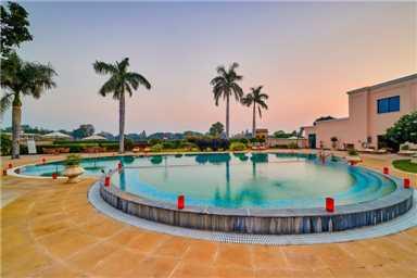 The LaLit Template View Khajuraho Pool