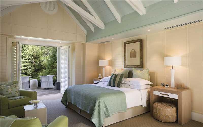 Huka Lodge  Zimmeransicht