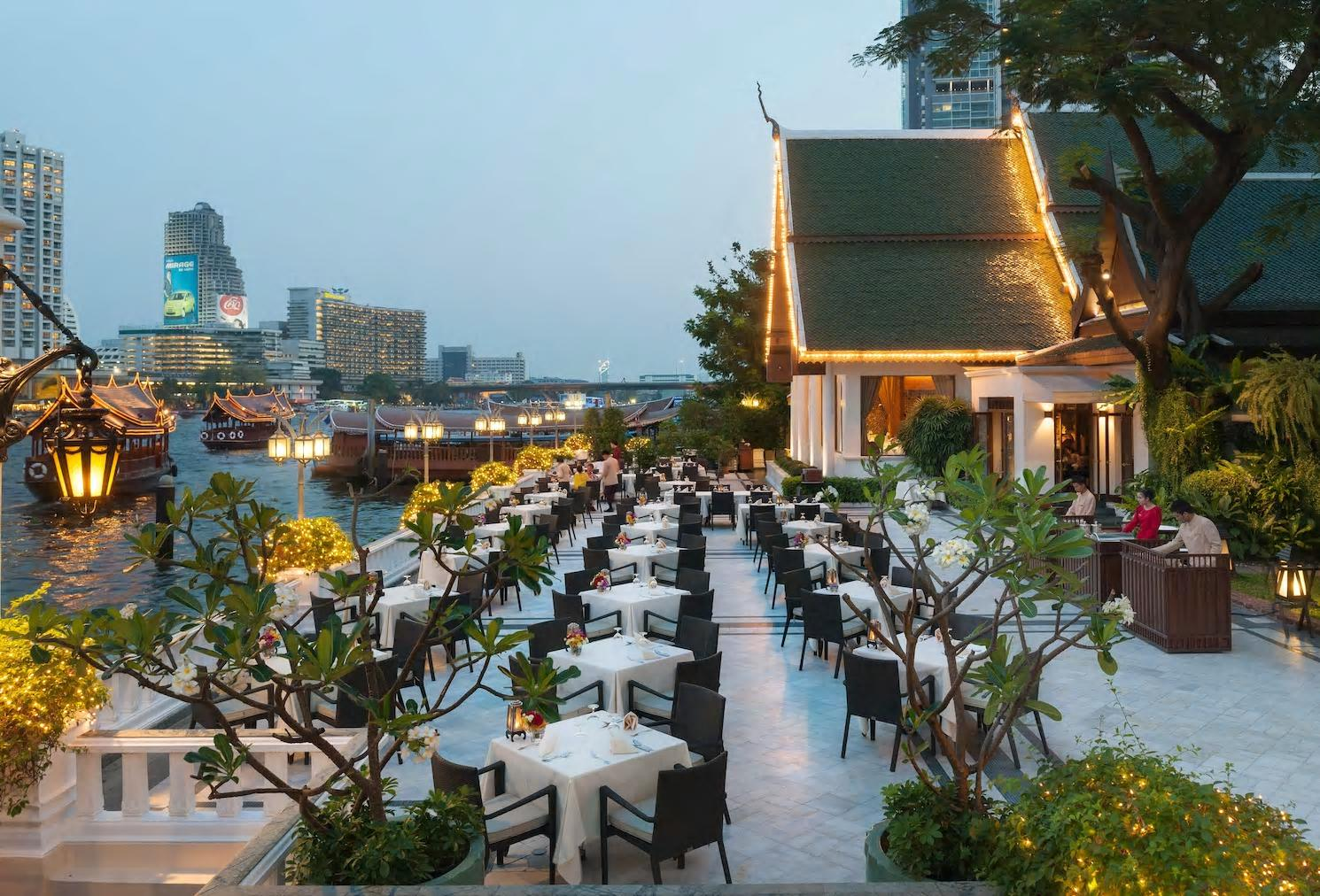 Mandarin Oriental Bangkok Terrasse Rim Naam