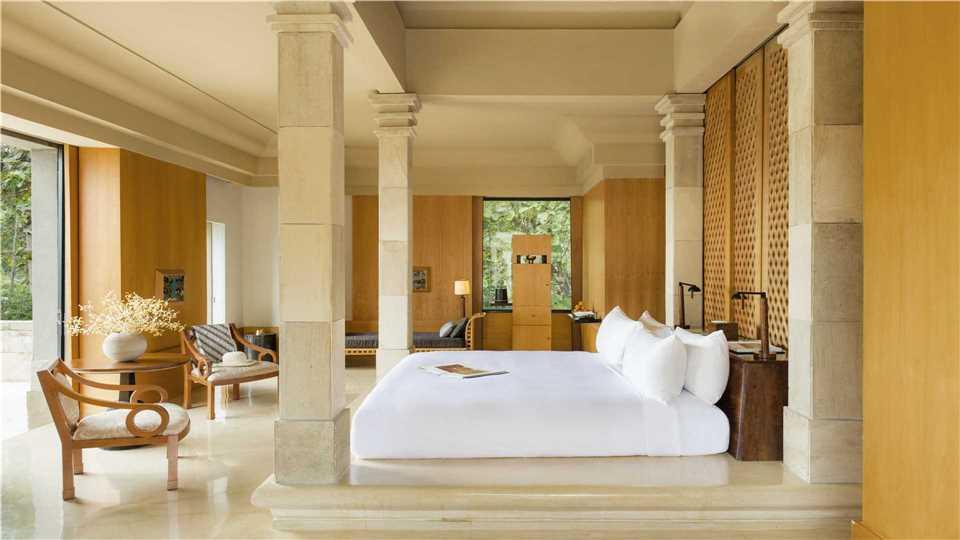 Zimmer Amanjiwo Resort in Yogyakarta