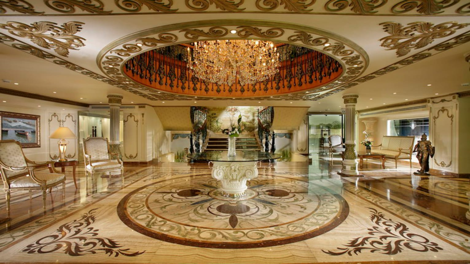 Four Seasons Hotel Cairo at the First Residence Empfangshalle