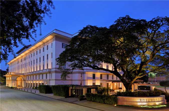 Rosewood Yangon Außenansicht