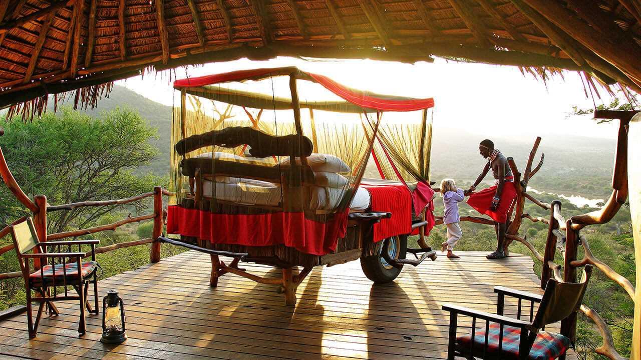 The Manor at Ngorongoro Starbed
