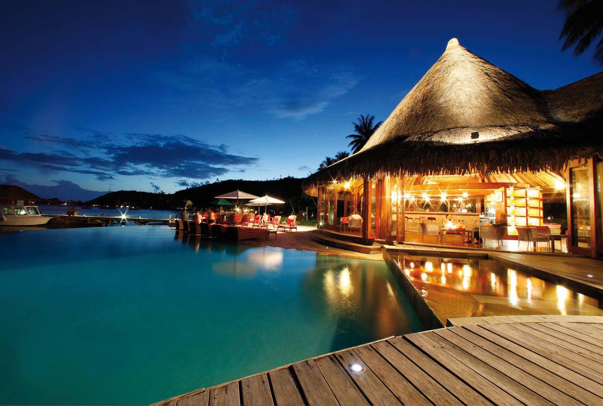 Sofitel Bora Bora Marara Beach Resort Bar